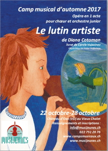 """""""Le lutin artiste"""" en Suisse, au Château d'Oex"""